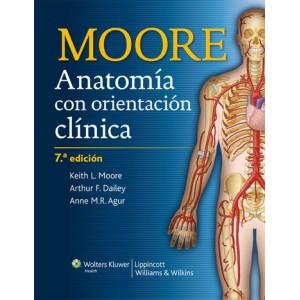 Keith Moore Anatomía con Orientación Clínica 6ª - 7ª Edición Pdf Español